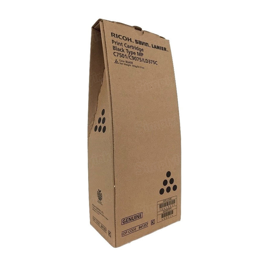 OEM Ricoh 841357 Black Toner Cartridge