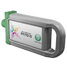 Compatible Canon PFI-701G High Yield Pigment Green Ink Cartridges