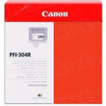 Canon PFI-304R Red OEM Ink Cartridge
