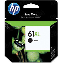 Genuine HP 61XL Black Ink Cartridge in Retail Packaging (CH563WN) High-Yield