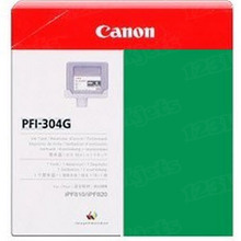 Canon PFI-304G Green OEM Ink Cartridge, 3856B001AA