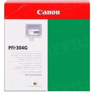 Canon PFI-304G Green OEM Ink Cartridge