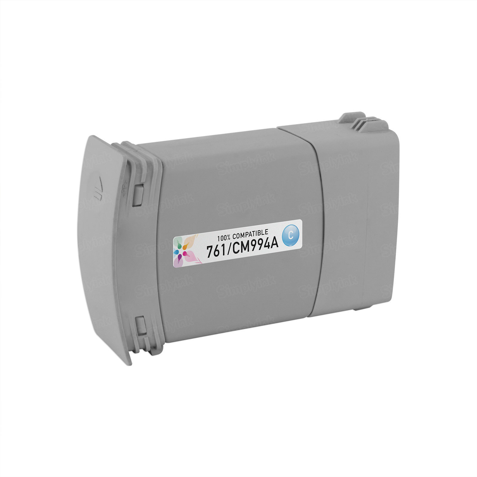 Remanufactured Replacement Cyan Ink for HP 761