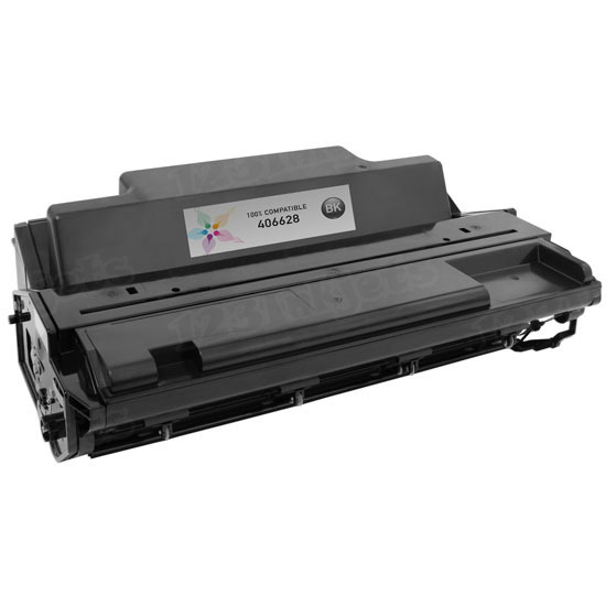 Ricoh Compatible 406628 Black Toner