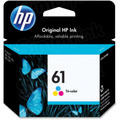 HP 61 Tri-Color Original Ink Cartridge CH562WN