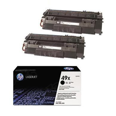 Original HP Q5949XD (49XD) HY Black Toner