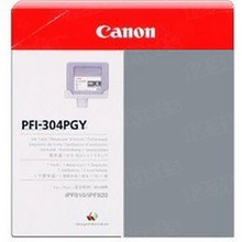 Canon PFI-304PGY Photo Gray OEM Ink Cartridge, 3859B001AA