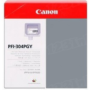 Canon PFI-304PGY Photo Gray OEM Ink Cartridge