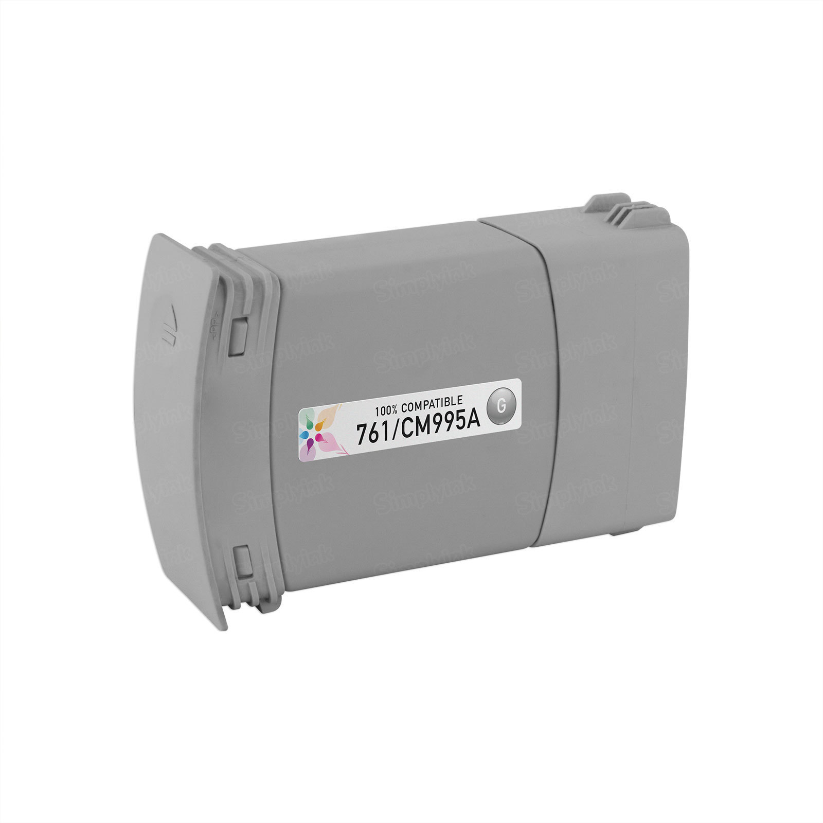 Remanufactured Replacement Gray Ink for HP 761