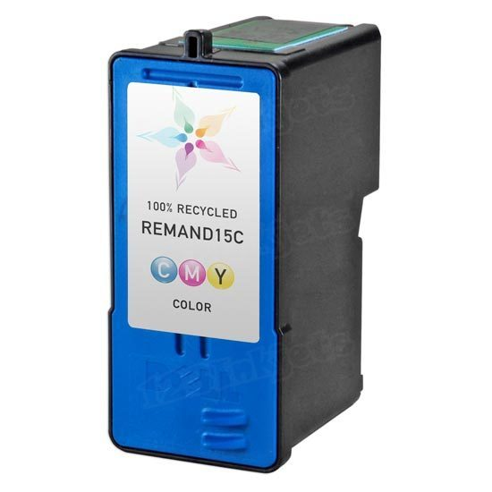 Remanufactured Ink Cartridge for Dell HT956 Color Series 15