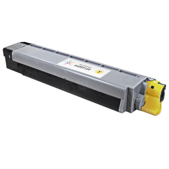 Compatible 44059109 Yellow Toner for Okidata