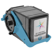 Compatible Cyan Laser Toner Cartridge for Xerox 106R02599