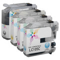 Compatible LC107 4 Pack for Brother