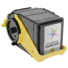 Compatible Yellow Laser Toner Cartridge for Xerox 106R02601