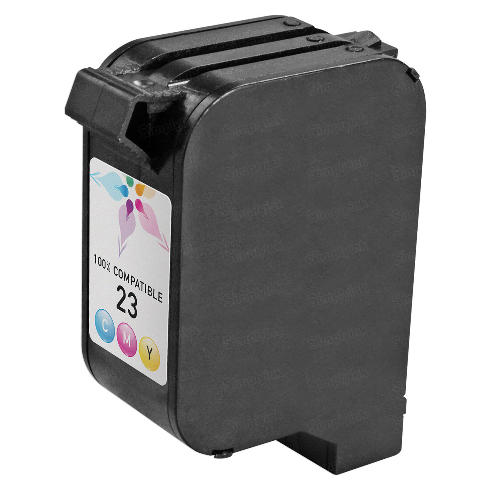 Remanufactured Replacement Tri-Color Ink for HP 23