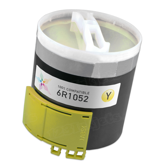Compatible 6R1052 Yellow Toner for Xerox
