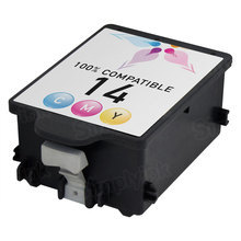 Remanufactured Replacement Ink Cartridge for Hewlett Packard C5010DN (HP 14) Tri-Color