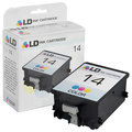 Remanufactured Replacement Tri-Color Ink for HP 14
