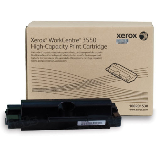 Xerox 106R01530 (106R1530) HY Black OEM Toner Cartridge