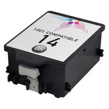 Remanufactured Replacement Ink Cartridge for Hewlett Packard C5011DN (HP 14) Black
