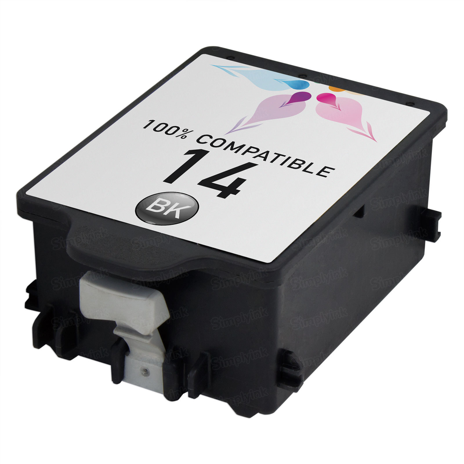 Remanufactured Replacement Black Ink for HP 14
