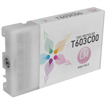 Remanufactured Replacement for Epson T603C00 (T603C) High Capacity Light Magenta Ink Cartridges for the Stylus Pro 7800, 9800