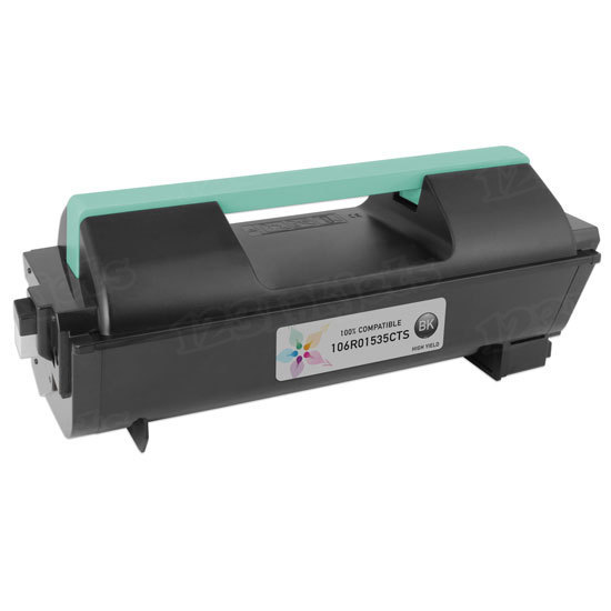 Compatible 106R01535 High Capacity Black Toner for Xerox