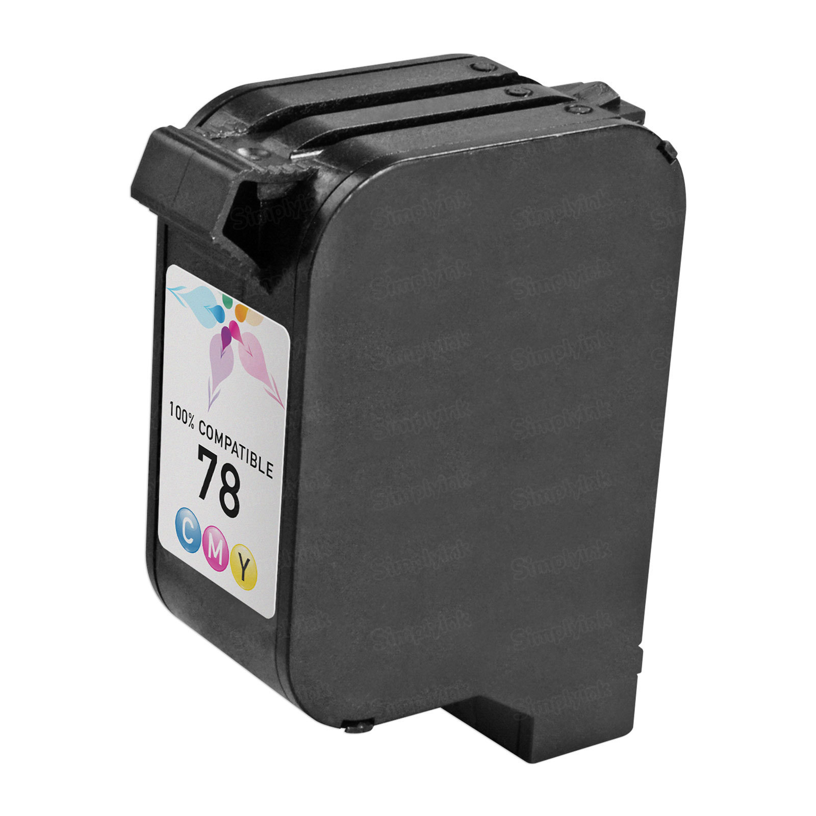 Remanufactured Replacement Tri-Color Ink for HP 78