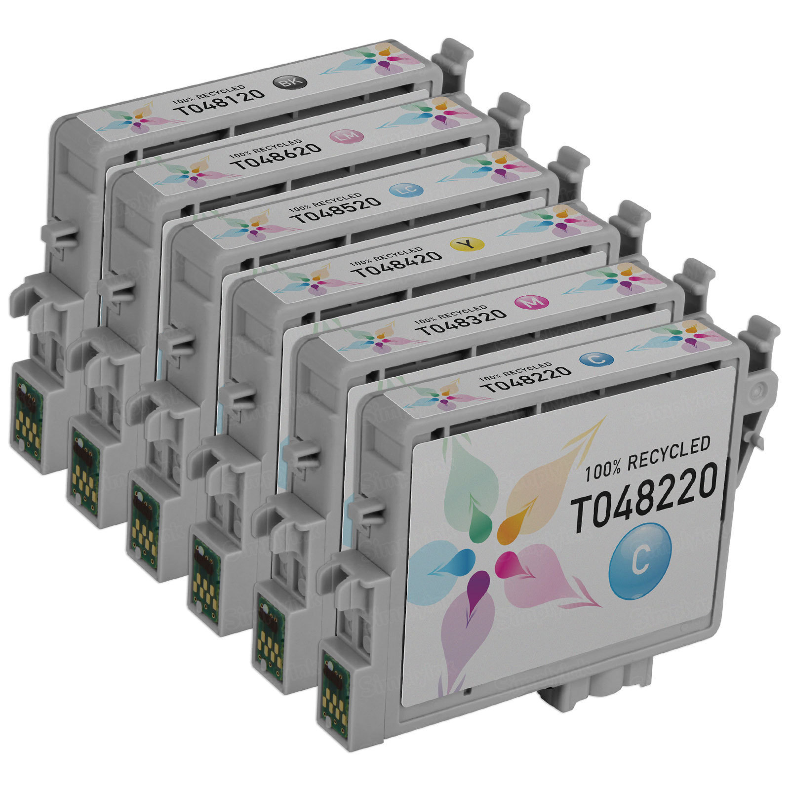 Remanufactured T048 6 Pack for Epson