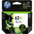 HP 62XL Tri-Color Original Ink Cartridge C2P07AN