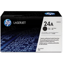 HP 24A (Q2624A) Black Original Toner Cartridge in Retail Packaging