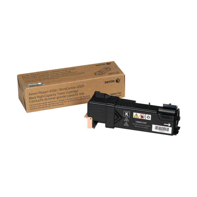 Xerox 106R01597 (106R1597) HY Black OEM Toner Cartridge