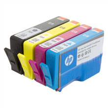 Genuine HP 564 Black, Cyan, Magenta and Yellow Ink Cartridge Set - Not in Retail Packaging
