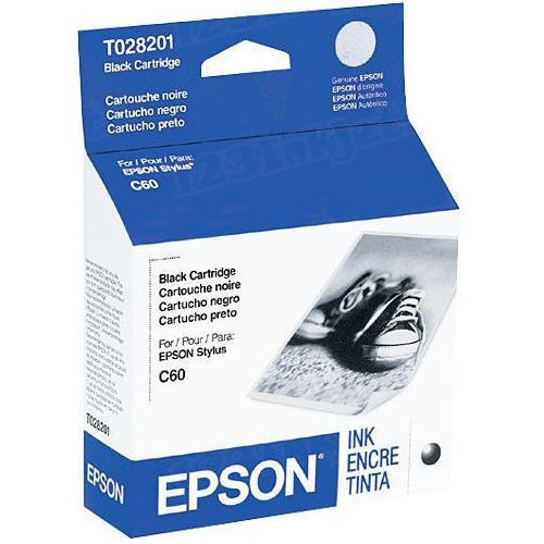 Epson T028201 Black OEM Ink Cartridge