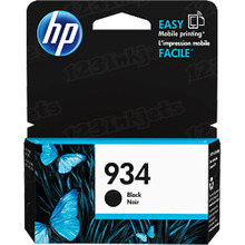 Original HP 934 Black Ink Cartridge in Retail Packaging (C2P19AN)