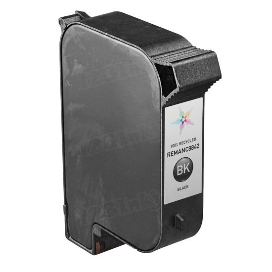 Remanufactured Replacement Versatile Black Ink for HP C8842A