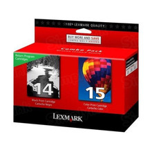 Original Lexmark 18C2239 Black and Color Ink Cartridge