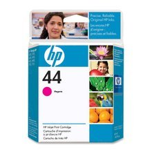 Original HP 44 Magenta Ink Cartridge in Retail Packaging (51644M)