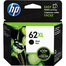Original HP 62XL Black Ink Cartridge in Retail Packaging (C2P05AN) High-Yield