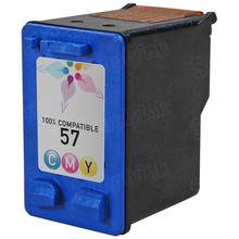 Remanufactured Replacement Ink Cartridge for Hewlett Packard C6657AN (HP 57) Tri-Color