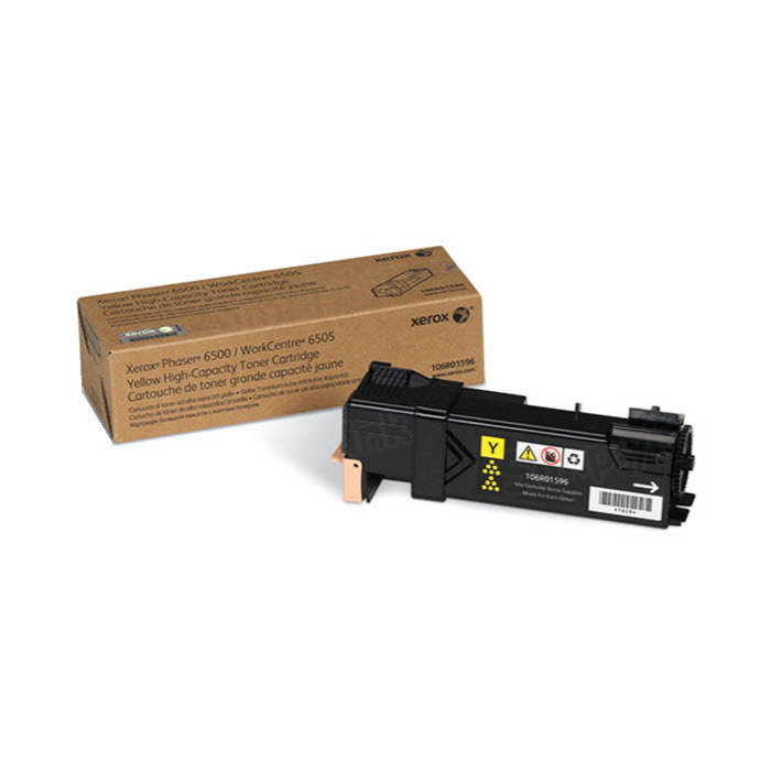 Xerox 106R01596 (106R1596) HY Yellow OEM Toner Cartridge