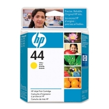 Original HP 44 Yellow Ink Cartridge in Retail Packaging (51644Y)
