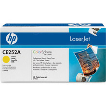 HP 504A (CE252A) Yellow Original Toner Cartridge in Retail Packaging
