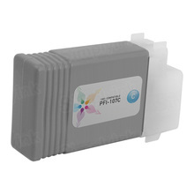 Canon (PFI-107C) Cyan Compatible Ink Cartridge, 6706B001