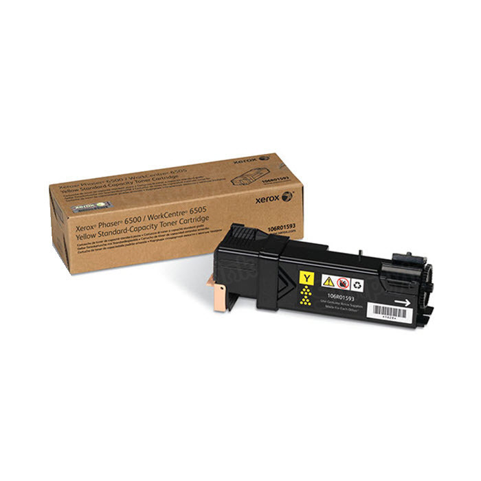 Xerox 106R01593 (106R1593) Yellow OEM Toner Cartridge