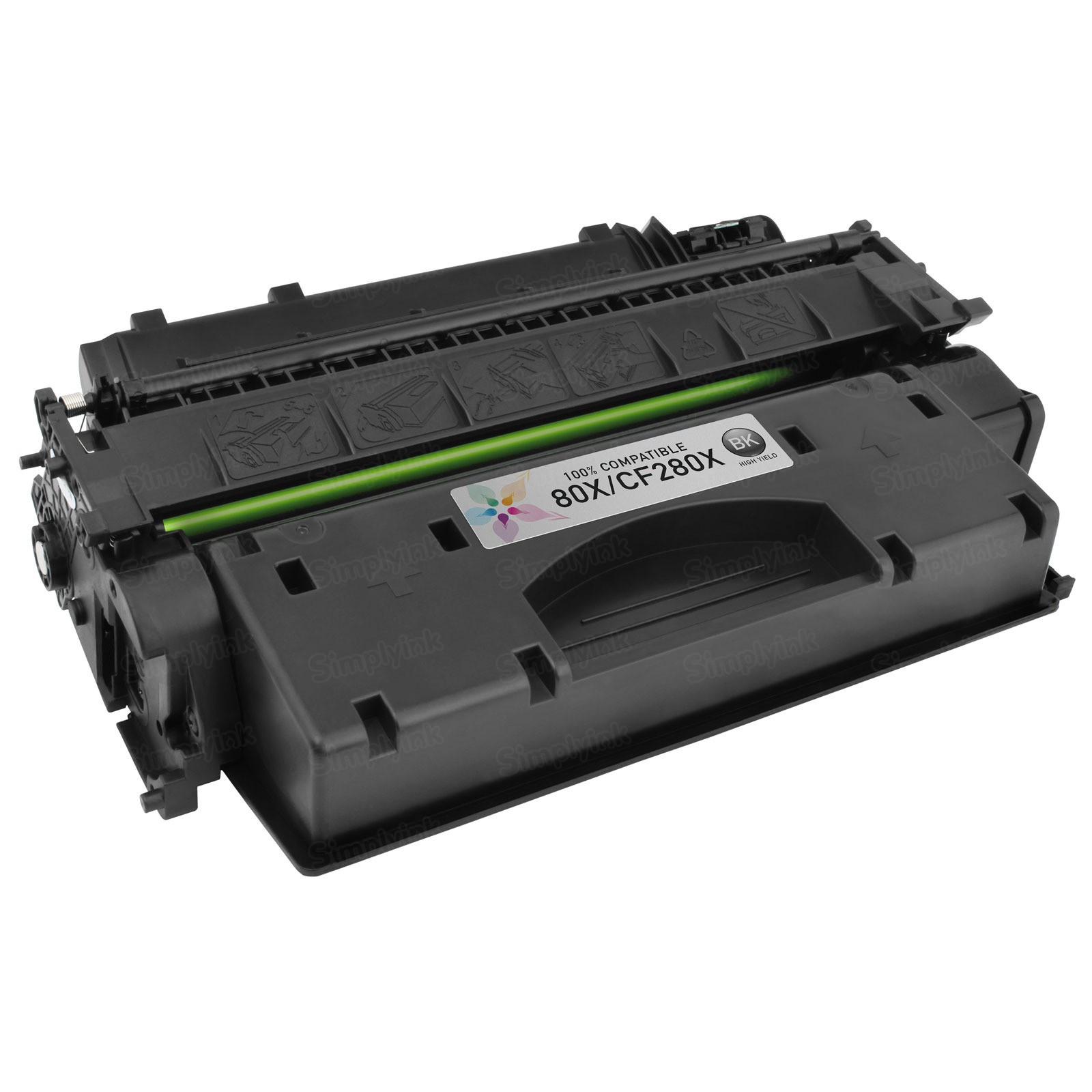 Compatible Brand HY Black Laser Toner for HP 80X