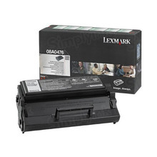 Lexmark OEM Black Return Program Laser Toner Cartridge, 08A0476 (E320/E322 Series) (3K Page Yield)