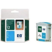 Original HP 12 Cyan Ink Cartridge in Retail Packaging (C4804A)