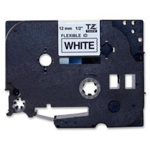 Brother TZe231 Black on White OEM 1/2 Label Tape