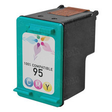 Remanufactured Replacement Ink Cartridge for Hewlett Packard C8766WN (HP 95) Tri-Color
